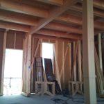 店舗(接骨院)付き住宅の構造用金物中間検査