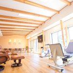 設計したリハビリデイサービスの食堂及び機能訓練室