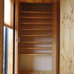 大容量の下駄箱のある家の新築設計