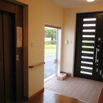 ホームエレベータ付きバリアフリー住宅兼オフィスの新築設計