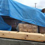 新築設計したデイサービス併設住宅型有料老人ホームの構造用木材