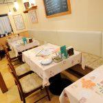 店舗デザインしたパスタ店の店内|愛知県春日町