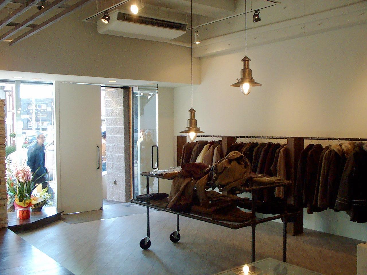 雑貨店セレクトショップの店舗改装デザイン、増築設計