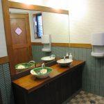 ホームエレベーター付き店舗付き住宅のトイレの設計、デザイン