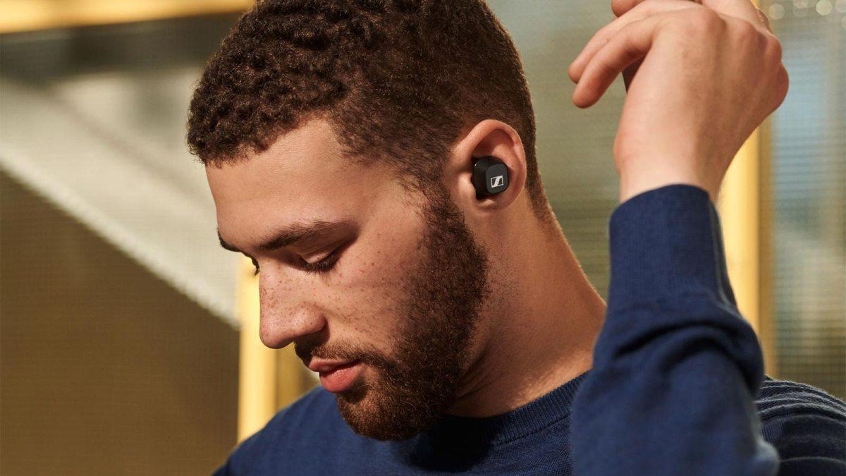 The Sennheiser CX True Wireless Earbuds