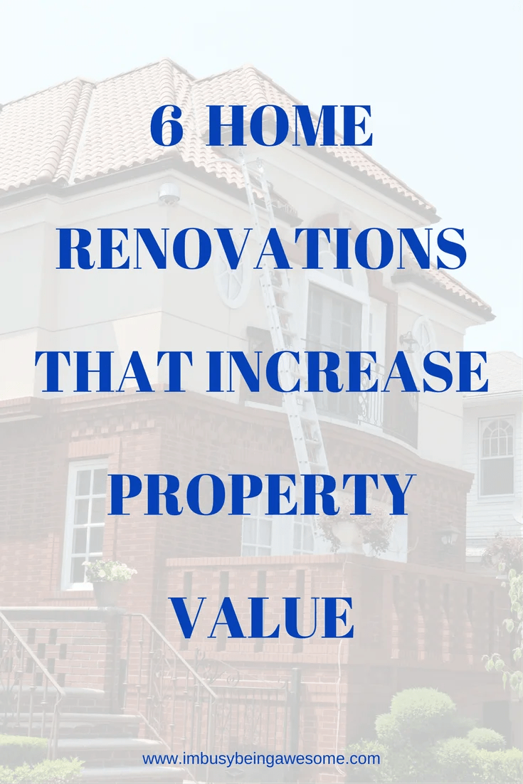 """6 answers to """"what home improvement projects increase property value?"""" renovations, diy, home improvement, remodeling, organization, planning, budget, save money, cheap, thrifty, invest #renovations #diy #homeimprovement #remodeling #organization #planning #budget #savemoney #cheap #thrifty #invest"""