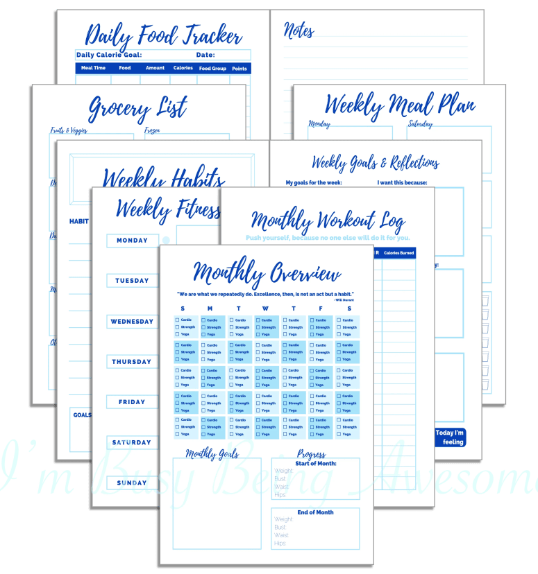 5 step strategy to stick with your fitness goals for good. workout, health, diet, healthy, weight loss, tracker, planner, happy planner, arc planner, filofax #workout #health #diet #healthy #weightloss #tracker #planner #happyplanner #arcplanner #filofax