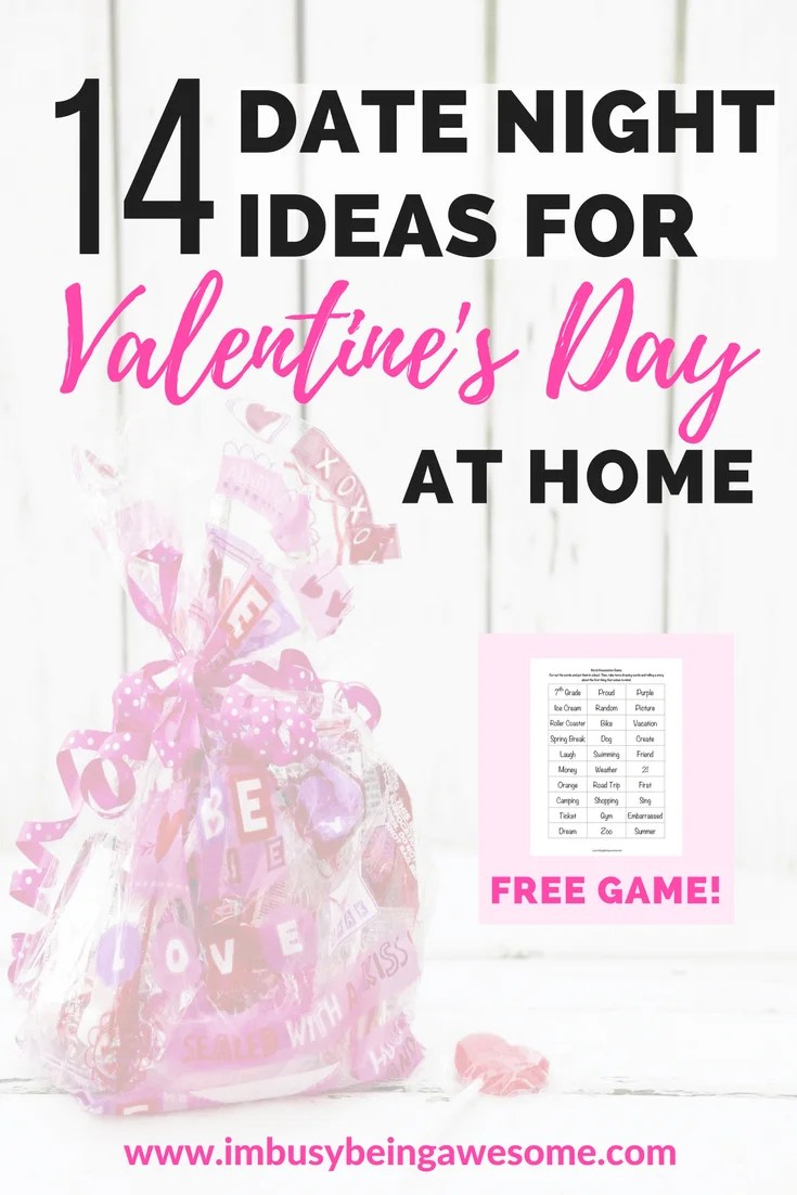 14 Ideas For Date Night At Home | I\'m Busy Being Awesome