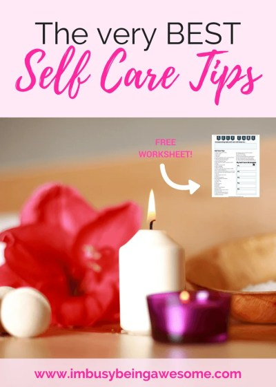 My Favorite Self Care Tips: Blogger Round-up