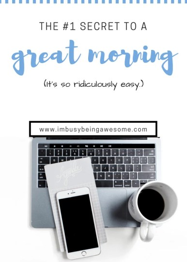 Can't get up in the morning? Try this. Wondering how to get up in the morning? Are you always late for work? Do you struggle to get out of bed? Do you want to have a more productive morning? Use this simple hack for a successful morning routine. #morning #morningroutine #productive #tipsandtricks