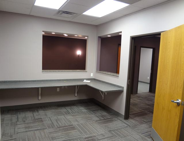 commerce twp office space reception office