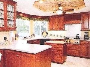 executive retreat rental kitchen