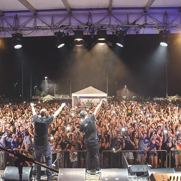 sud sound system at district festival - salice legnano