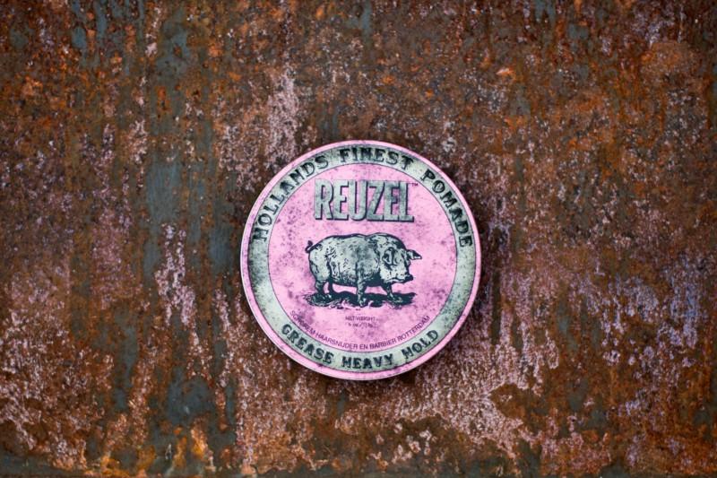 Reuzel pink pomade tin