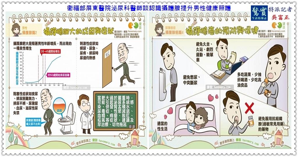 20190726d(驚實報)-衛福部屏東醫院泌尿科醫師談認識攝護腺提升男性健康照護02