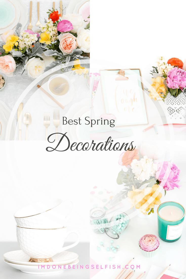 #36 spring home decor