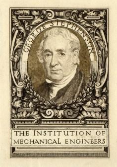 George Stephenson bookplate