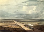 View of the railway across Chat Moss (IMechE collections, END/10/5/1/6)