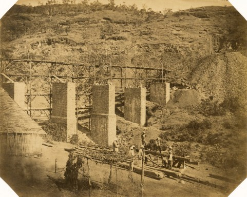 Bhore Ghat Railway: Viaduct no.1 at 3 1/4 miles.