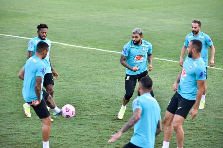 Treino da Seleção na Colina (Mauro Neto - Faar)