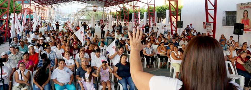 'Ya falta poco para empezar a escribir una nueva historia para el país, para Sinaloa': Imelda Castro
