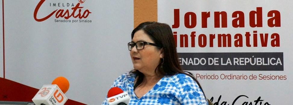 'Muy productivo para el país el segundo periodo ordinario de sesiones del Senado': Imelda Castro