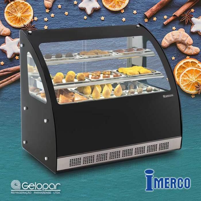 Exhibidor No Refrigerado MGNB 110 GELOPAR
