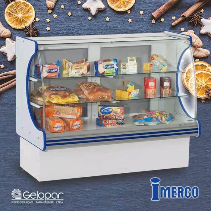 Exhibidor No Refrigerado MPNV-140 GELOPAR