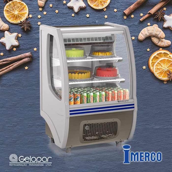 Exhibidor Refrigerado GBSP 075 GELOPAR