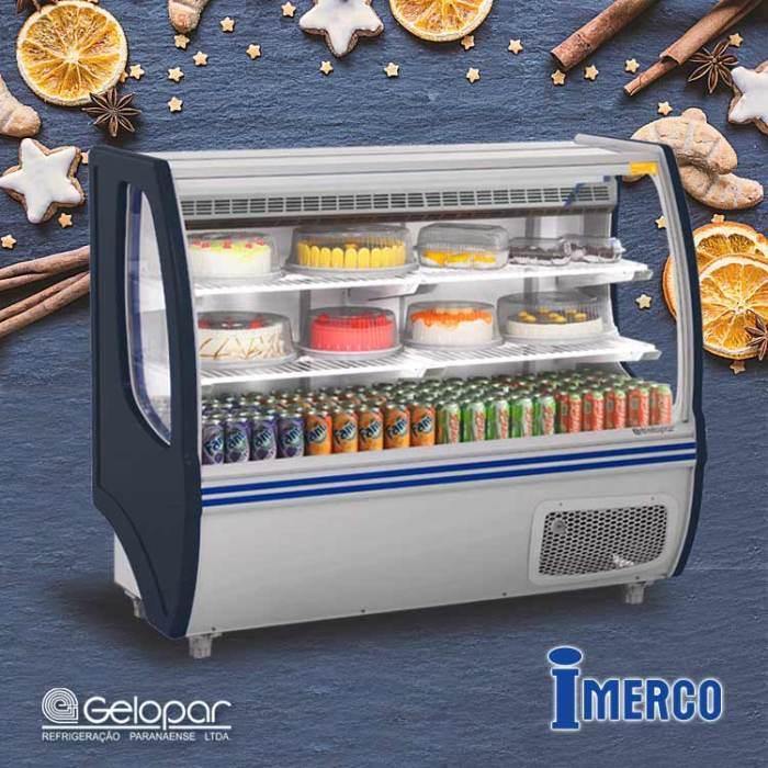 Exhibidor Refrigerado GBSP 140-PR GELOPAR