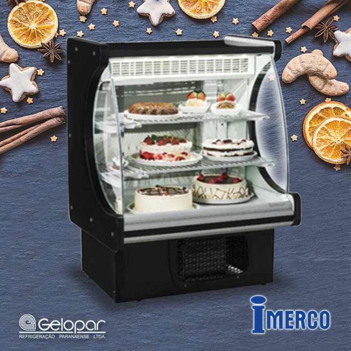 Exhibidor Refrigerado GEPV 075 GELOPAR