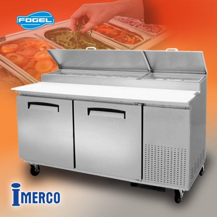 MESA DE TRABAJO Refrigerada MPP-67