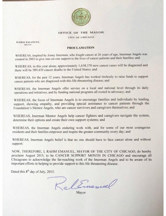 Mayor's Office Proclamation_WCSM
