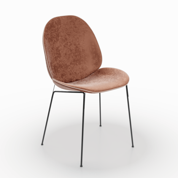 SC-0009 Metallic Brown Chair