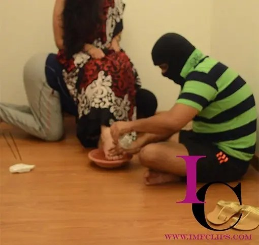 Indian Mistress Worshiped
