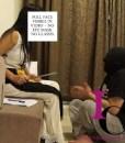 Student beaten by Female Teacher