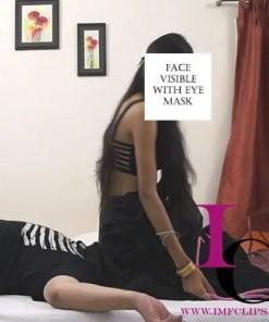 Saree Face Sitting