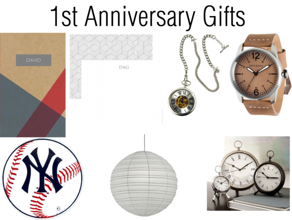 1st Anniversary Gifts