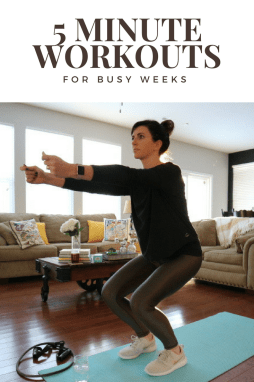 Three 5 Minute Workouts for Busy Weeks - I'm Fixin' To - @mbg0112