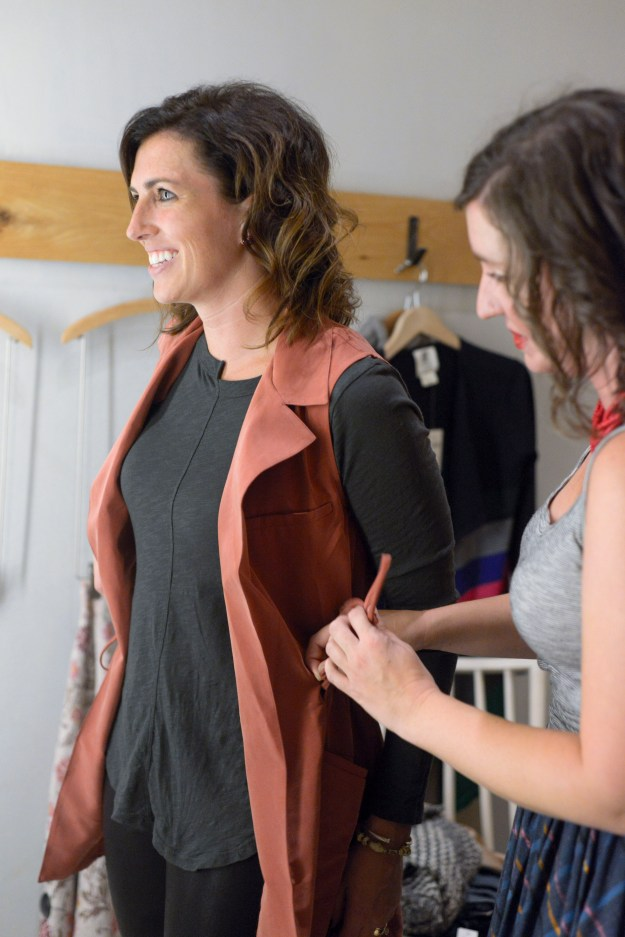 Personal Stylist Session at Anthropologie Durham