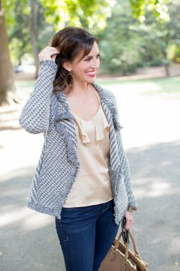 Silver, Gold, and a Tweed Jacket for Fall