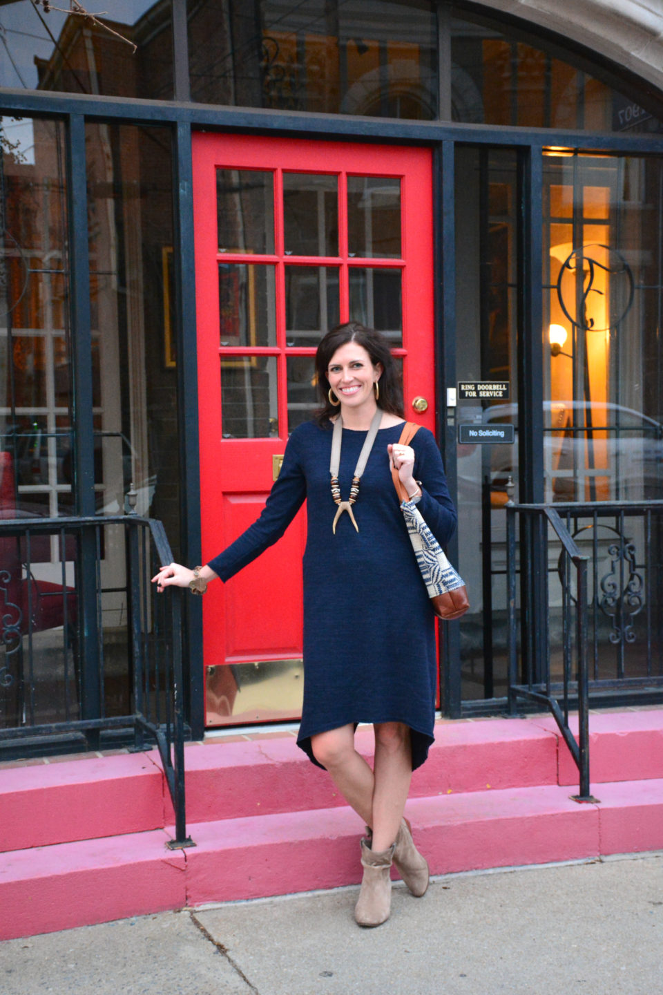 The Perfect Knit Dress for Exploring