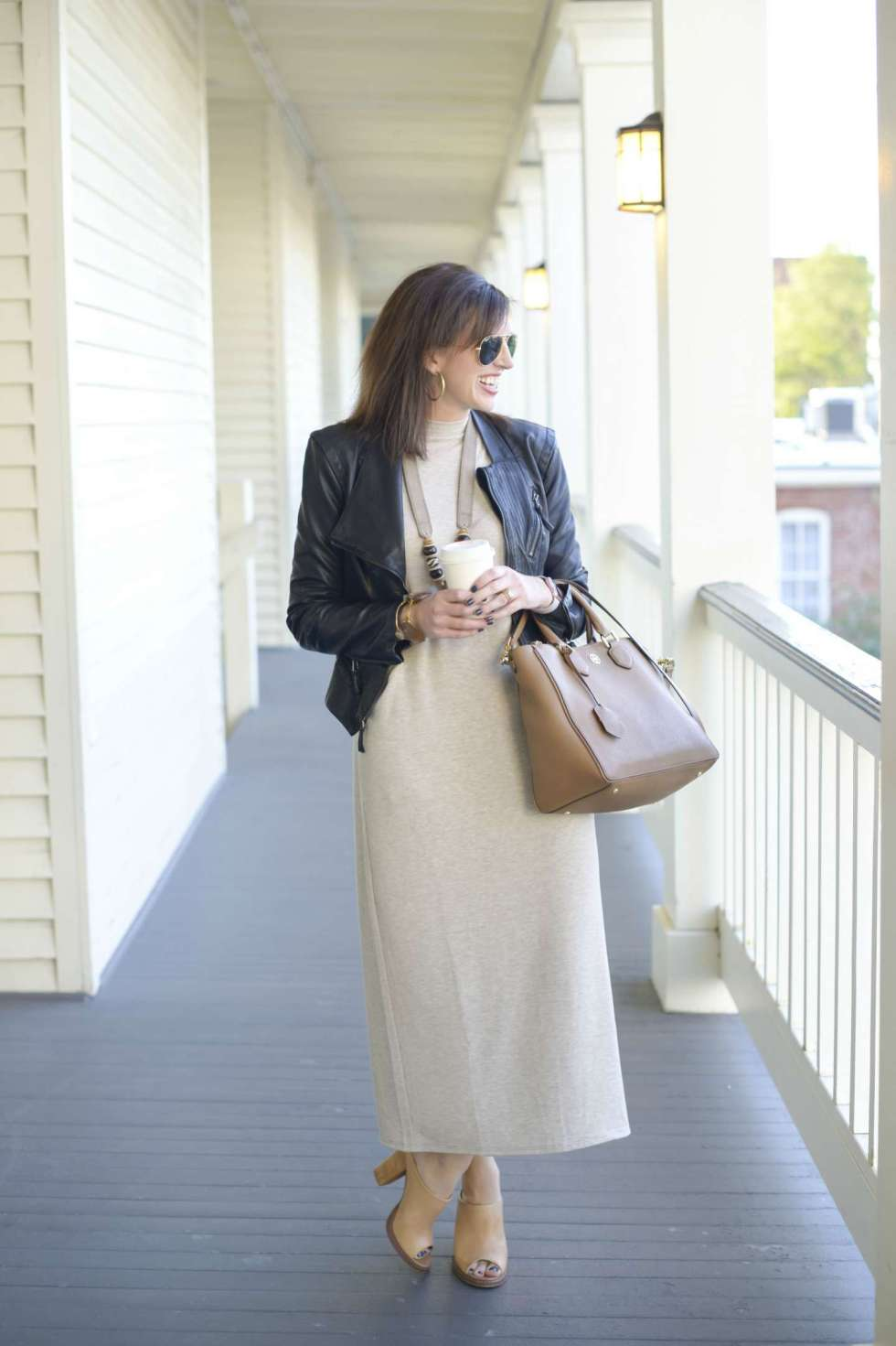 Transitioning with J.Jill & Faux Leather - I'm Fixin' To - @mbg0112