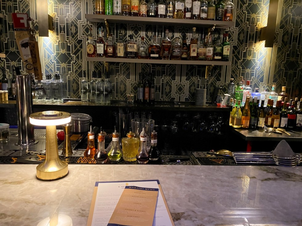 23 Awesome Things To Do in Durham - I'm Fixin' To - @imfixintoblog | Things to do in Durham by popular NC travel blog, I'm Fixin' To: image of the Corpse Reviver bar.