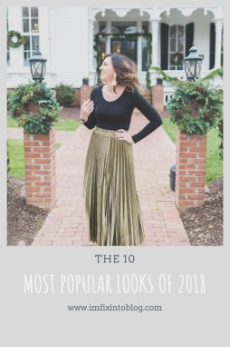 10 Most Popular Outfits from 2018 - I'm Fixin' To - @mbg0112