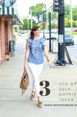 3 4th of July Outfit Ideas to Celebrate Independence Day - I'm Fixin' To - @mbg0112