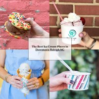 Local Favorites: Top 5 Best Ice Cream Places in Downtown Raleigh NC