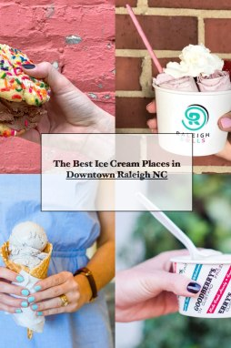 Local Favorites: Top 5 Best Ice Cream Places in Downtown Raleigh NC - I'm Fixin' To - @mbg0112 | Top 5 Best Ice Cream Places in Downtown Raleigh NC featured by top NC blog, I'm Fixin' To