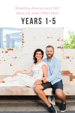 Wedding Anniversary Gift Ideas for your Other Half: Years 1-5 - I'm Fixin' To - @mbg0112