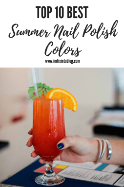 Top 10 Best Summer Nail Polish Colors - I'm Fixin' To - @mbg0112